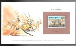 BAHRAÏN 1982 SUPERBE CARTE COLECTION WW  ARABIAN ORYX Avec Timbre MI  N°327 Neuf **sans Charnière /MA06 - Bahreïn (1965-...)