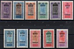 SOUDAN - YT N° 42 à 52 - Neufs */** - MH/MNH - Cote: 108,10 € - Soudan (1894-1902)