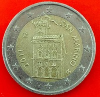 SAN MARINO - 2011 - Moneta - Antica Domus Magna Comunis, Il Palazzo Pubblico Di San Marino - Euro - 2.00 - San Marino