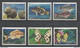 Greece - 1981 Butterflies,Shells & Fishes MNH** - Farfalle