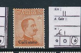 EGEO CALIMNO SASSONE 11 LH - Egeo (Calino)