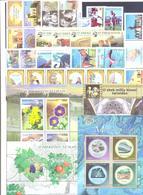 2019. Uzbekistan, Complete Year Set 2019, 24 Stamps + 13 S/s + 2 Sheetlets, Mint/** - Uzbekistan