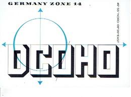 QSL - GERMANY - DC0HO - J. BINET - NACKENHEIM - 1973 - Radio-amateur