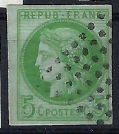FRANCE  Colonies Générales 1871:   Le Y&T 17 , Oblitéré,   B à TB - Napoléon III