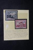 FRANCE - Oblitération De L 'Exposition Contre Le Bolchevisme De Bordeaux Sur Timbres LVF En 1942 - L 51240 - Guerres