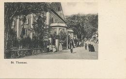 St Thomas Danish West Indies Undivided Back D.W.I. - Vierges (Iles), Amér.