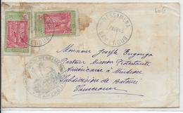 1943 - CAMEROUN FRANCE LIBRE - ENVELOPPE De MESSAMENA Avec CENSURE  RARE ! => BETOUSI - Cameroun (1915-1959)