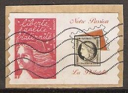 Marianne De Luquet Timbre Personnalisé Notre Passion La Philatélie - 1997-04 Marianne Van De 14de Juli