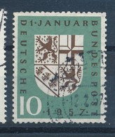 BRD Mi. 249 Gest. Wappen Saarland Löwe - Briefmarken