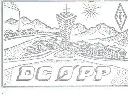 QSL - GERMANY - DC0PP - REINHARD LAMM - OBERKIRCH - 1971 - Radio Amatoriale