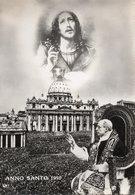 ROMA - ANNO SANTO 1950 - FORMATO GRANDE Primissime Lucide - VIAGGIATA 1950 - (rif. C48) - Cristianesimo