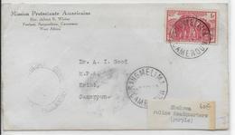 1940 - CAMEROUN - ENVELOPPE De SANGMELIMA Avec CENSURE RARE ! => KRIBI - Cameroun (1915-1959)