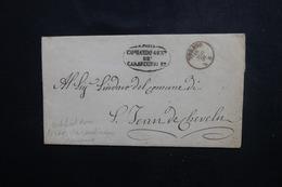 ITALIE - Lettre Avec Cachet Des Carabiniers Royaux De Torino - 1859 Pour St-Jean-de-Chevelu ( Savoie ) - L 51244 - Non Classés