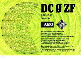 QSL - GERMANY - DC0ZF - BERND LEHNHAUSEN - GIESSEN - 1977 - Radio-amateur
