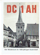 QSL - GERMANY - DC1AH - WOLFGANG JAHN - DUDERSTADT  - 1973 - Radio-amateur