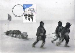 35445. Tarjeta Maxima KINGSTON (Australia) 2001. Australian ANTARCTIC Terrutory. Poole South - Maximum Cards