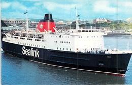 C P S M Ferries Sealink Hengist Construit à Brest 1972 - Veerboten