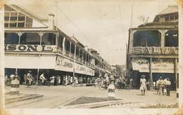Real Photo Frederick Street Trinidad  Vertical Crease Right Side - Trinidad