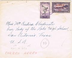 35446. Carta Aerea PANAMA 1952 To Texas USA - Panamá