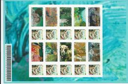 Timbres Autoadhésifs N° 3866B Feuillet Impressionnistes ** - France