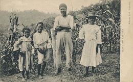 Trinidad Natives  Edit Wilsons  P. Used Stamped Port Of Spain 1912 . Very Light Crease Bottom Righ Corner - Trinidad