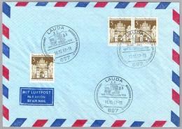 CORREO EN DILIGENCIA - MAIL STAGECOAH. Lauda, Alemania, 1967 - Correo Postal