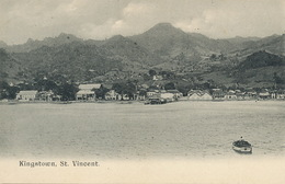 Kingstown , St Vincent  Undivided Back - Saint-Vincent-et-les Grenadines