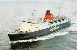 "C P S M Ferries Sealink "" Horsa "" Construit à Brest 1972 British Railways - Veerboten"