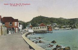 Lower End Of Bay St. Kingstown , St Vincent  Edit  Schiebeler Hamburg . Hand Colored - Saint-Vincent-et-les Grenadines
