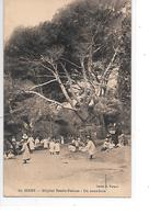 DEP. 83 GIENS N°19 HOPITAL RENEE-SABRAN - UN SOUS-BOIS Animée, Enfants, Circulée - Hyeres