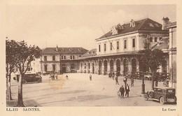 17 -- SAINTES -- La Gare Animée - Saintes