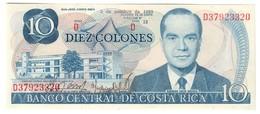 COSTA RICA10COLONES02/10/1985P237UNC.CV. - Costa Rica