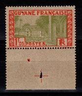 Guyane - YV 125 N** Gomme Coloniale Cote 6,80+ Euros - Unused Stamps