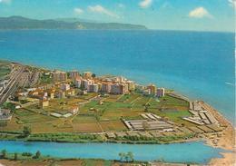 ALBENGA - PANORAMA AEREO ZONA MARE - VIAGGIATA 1971 - Altre Città