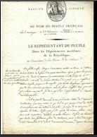 La Marine Sous La Révolution Française Jean Bon Saint André - Historical Documents