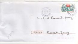 """: Beau Timbre , Stamp Yvert N° 3103 """" Corsaires """" Sur Lettre , Cover , Mail Du 13/10/1997 - France"""