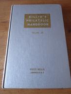 Billig's Philatelic Handbook Volume 25 1st Edition, 206 Pages, 1956 - Handbooks