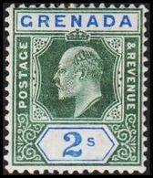 1902. GRENADA. Edvard VII. 2 S.  (MICHEL 48) - JF319026 - Grenade (...-1974)