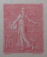 R1189/536 - ENTIER POSTAL - TYPE SEMEUSE FOND LIGNEE - CARTE POSTALE AVEC REPONSE PAYEE VIERGE - N°129-CPRP1 (513) - Cartes Postales Types Et TSC (avant 1995)