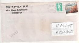 ": Beau Timbre , Stamp Yvert N° 2733 "" Croix Rouge "" Sur Lettre , Cover , Mail Du 04/04/1997 - France"