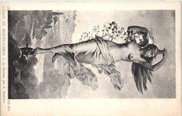 """NU - Femme - Tableau """"La Fortune """" De L. Hodebert - Casino De MONTE CARLO - Tableaux"""