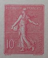 R1189/537 - ENTIER POSTAL - TYPE SEMEUSE FOND LIGNEE - CARTE POSTALE AVEC REPONSE PAYEE VIERGE - N°129-CPRP2 (sans Date) - Cartes Postales Types Et TSC (avant 1995)