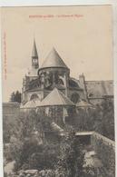 Cpa ( 52 Haute-marne ) Montier En Der , Le Chevet De L'église - Montier-en-Der