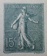 R1189/538 - ENTIER POSTAL - TYPE SEMEUSE FOND LIGNEE - ✉️ VIERGE - N°130-E1 Type I (412) - Postal Stamped Stationery