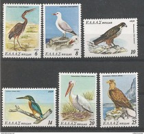 Greece - 1979 Rare & Endangered Birds Of Greece  MNH** - Collezioni & Lotti