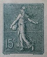 R1189/539 - ENTIER POSTAL - TYPE SEMEUSE FOND LIGNEE - ✉️ VIERGE - N°130-E3 (411) - Postal Stamped Stationery