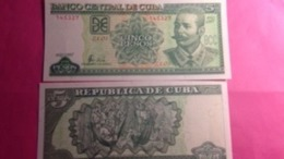 Billet Cuba 5 Pesos - Cuba