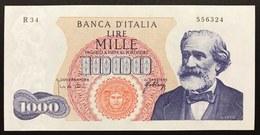1000 Lire Verdi I° Tipo 10 08 1965 Fds   LOTTO 2212 - [ 2] 1946-… : République