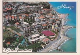 ALBENGA - PANORAMA AEREO - NON VIAGGIATA - Other Cities