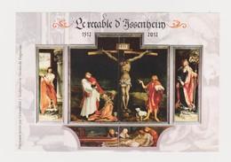 """FRANCE 2012 Bloc Souvenir Feuillet """" Retable D'Issenheim""""  :Y&T Numéro F 4675 Neuf - Blokken En Velletjes"""